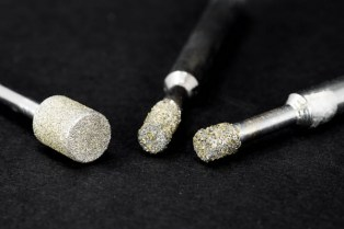 Electroplated diamond bits