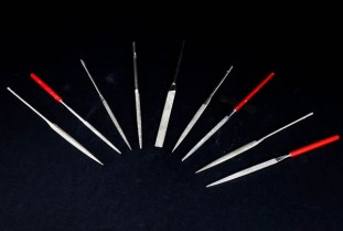 Limas diamantadas diamond needle files