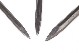 pneumatic point chisel steel