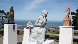 California Sculptors Symposium at Camp Ocean Pines, Cambria, CA
